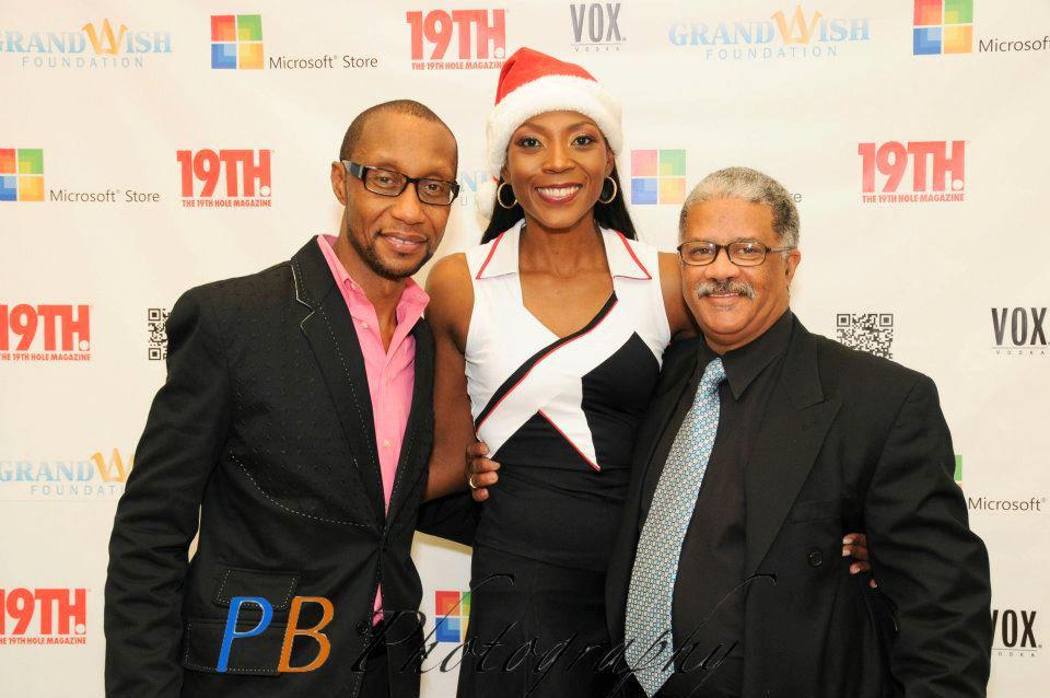 19th Hole Publisher, Ian P. Lawrence, Fashion Director, Renee Knorr, Strategic Alliances, W. Calvin Anderson