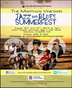 Martha's Vineyard Jazz Blues Festival 2013