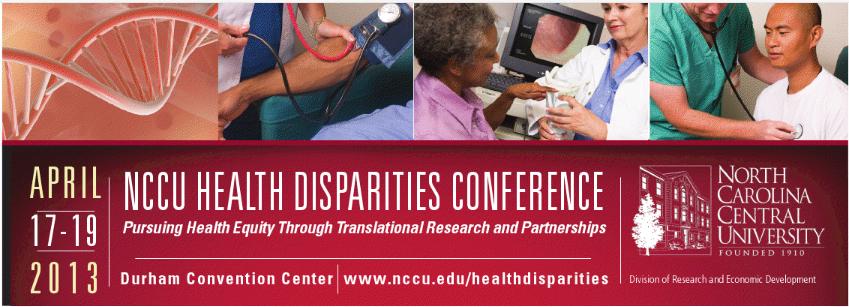 NCCU Health Disparities
