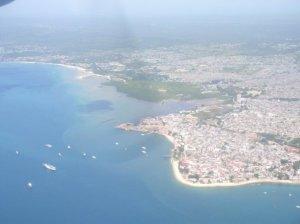 Ariel View of Zanzibar