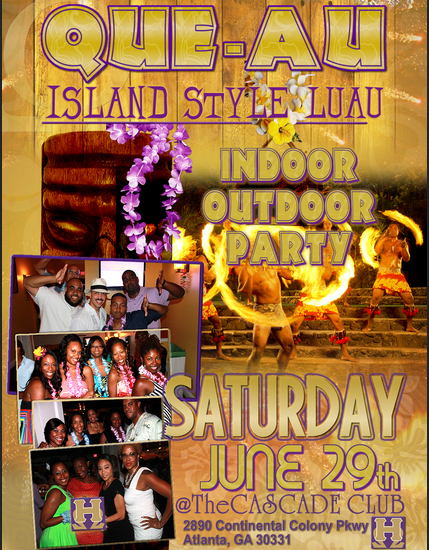 Que  Island Style Party