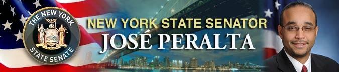 Senator Peralta photo banner