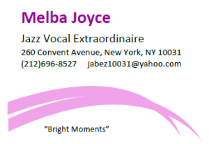 Melba Joyce logo