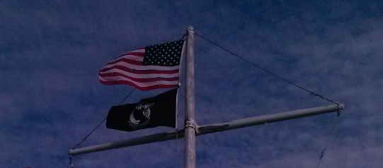 Flag America and POW