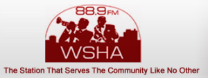 WSHA Radio logo