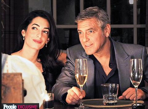Clooney Engagement