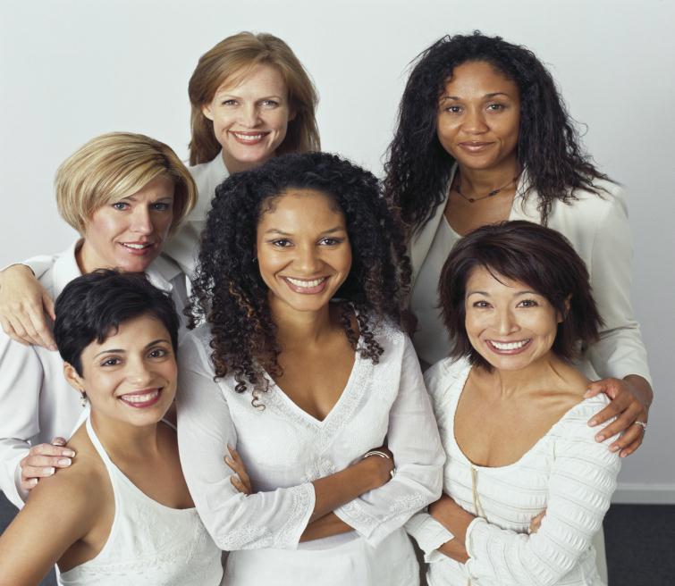 Real Women Health Fair women