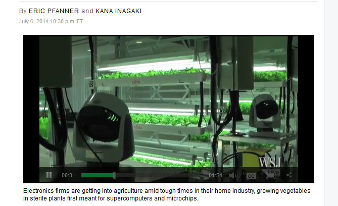 Green tech farming