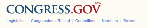 Congress.Gov logo