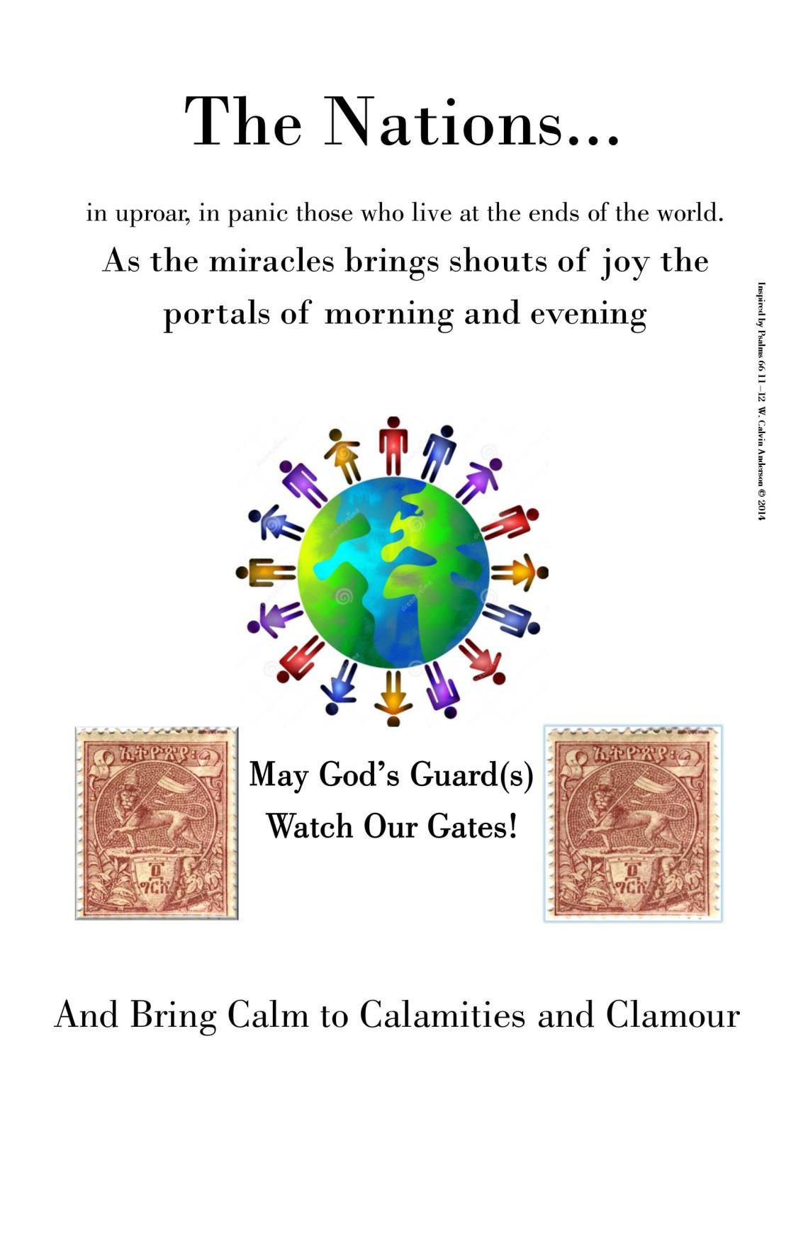 Psalms 66  11 & 12