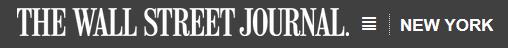 Wall Street Journal logo NYC