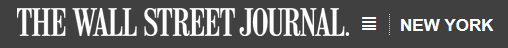 Wall Street Journal logo NYC