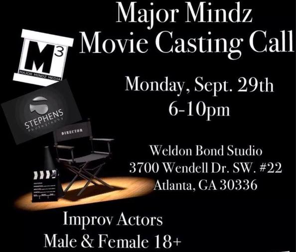 Major Casting Call