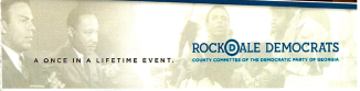 Rockdale logo with silhouette