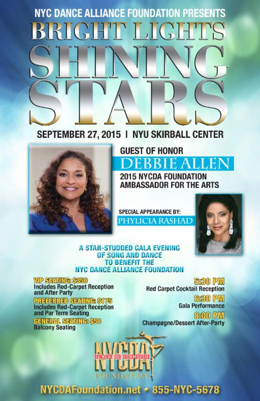 Debbie Allen Event Sept.
