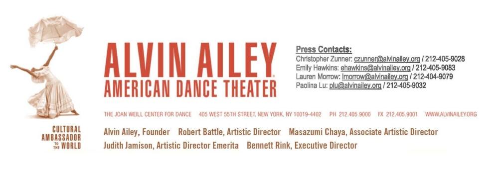 Alvin Alley logo